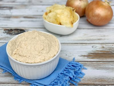 Easy Pan Fried Onion Dip Recipe