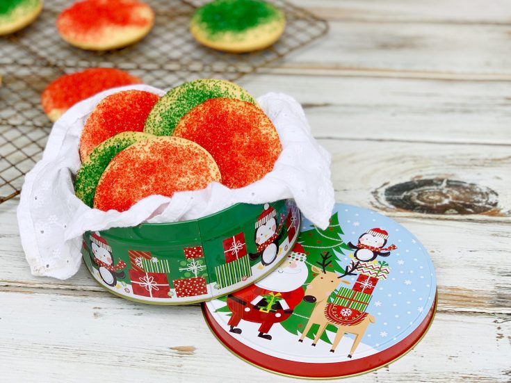 Old-Fashioned Sour Cream Sugar Cookies Recipe