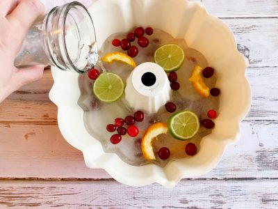 How To Make A Festive Ice Ring For Punch