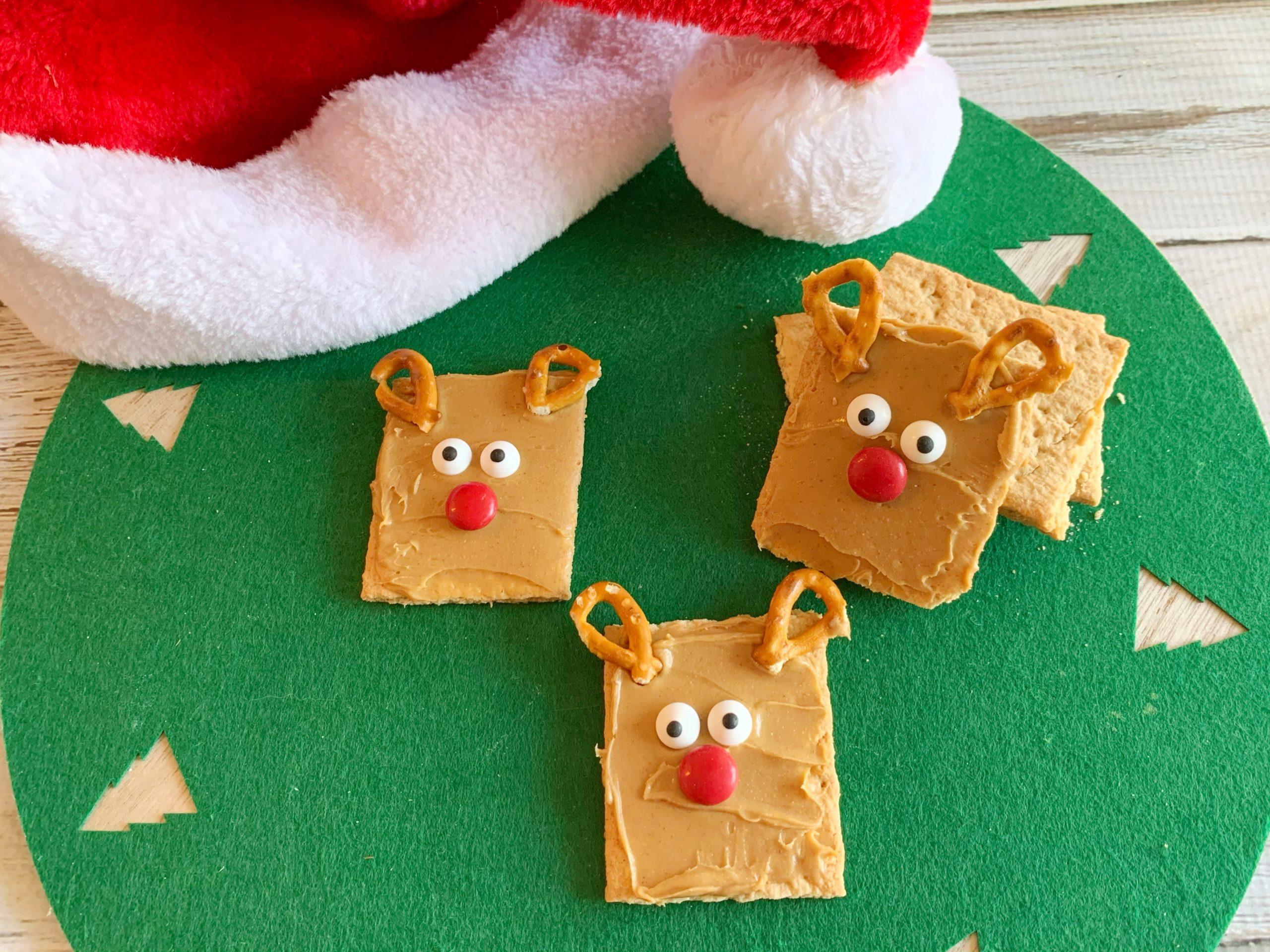 Kids Reindeer Christmas Snack Recipe