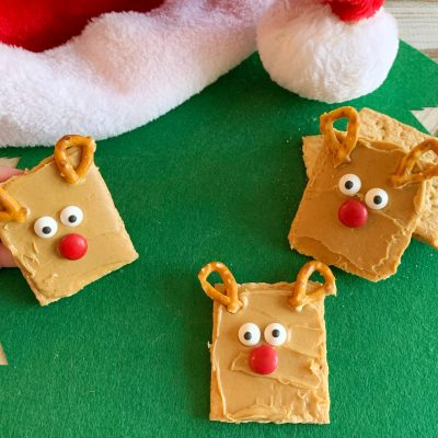 Simple Reindeer Christmas Snack Recipe For Kids