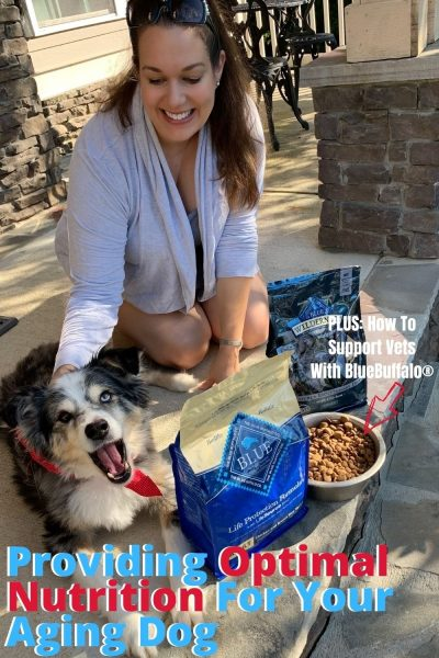 #AD See how BLUE Buffalo® provides proper nutrition to aging dogs with their special food formulas, AND how the brand supports veterans for the month of November - with a partnership together alongside Sierra Delta. #BLUESierraDelta