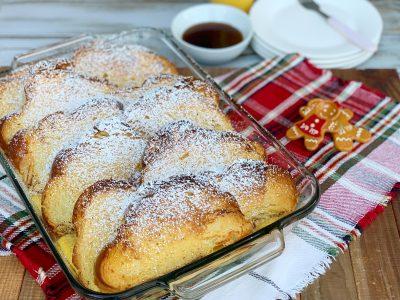 Finished Casserole Breakfast Recipe