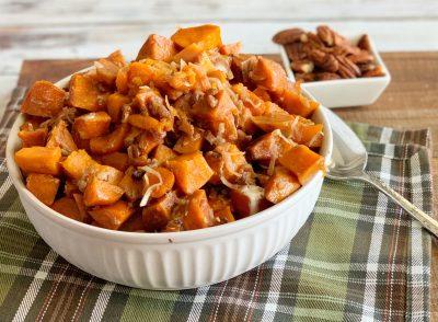 Thanksgiving Slow Cooker Sweet Potatoes Recipe