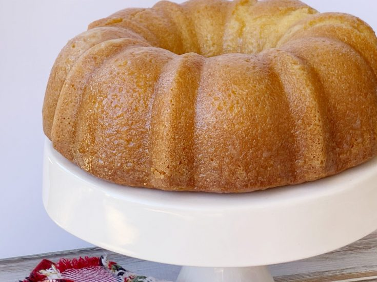 Amaretto Pound Cake Dessert Recipe