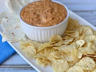 Bean Dip, Slow Cooker Dip, Hot Dip Recipe