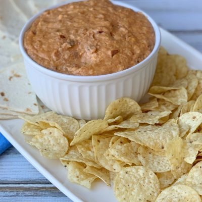 Creamy Slow Cooker Bean Dip Recipe (Party-Perfect Tex Mex)