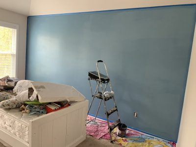 Saga Blue By Behr Paint - Baby Nursery