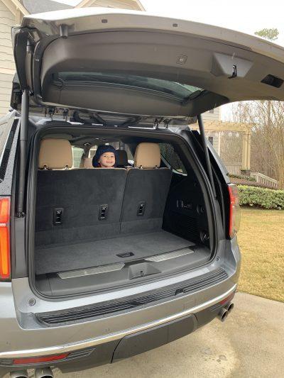 Rear Lift Gate Hands-Free