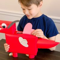 DIY Dragon Valentines Box For Boys