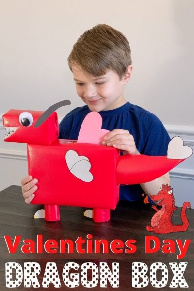 How To Make A Dragon Valentines Box For Kids