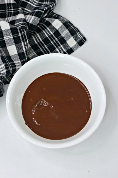 Melted Chocolate Wafers