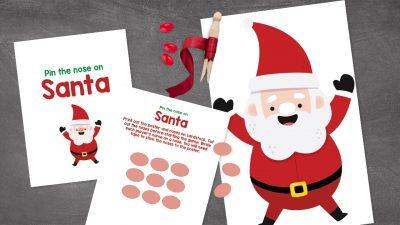 Printable Christmas Party Game For Kids