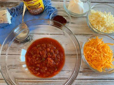 Bean Dip Ingredients Needed