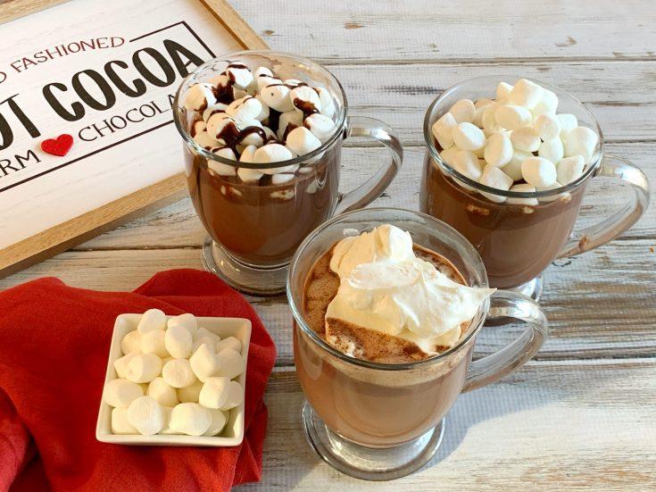 Stovetop Hot Cocoa Recipe, Easy Hot Cocoa, Easy Hot Chocolate