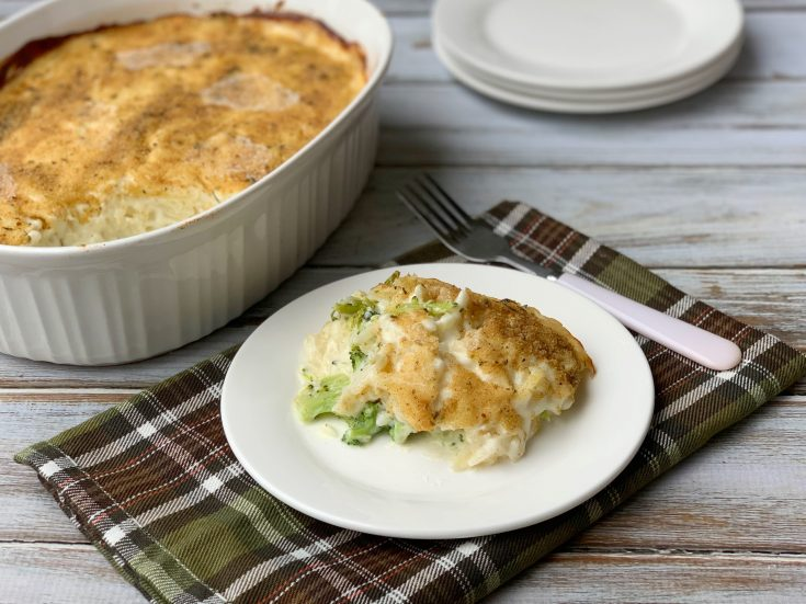 Broccoli Potato Casserole Side Dish Recipe