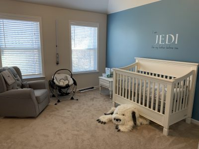 Star Wars Nursery Decor Reveal