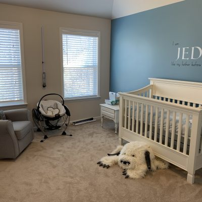 Star Wars Nursery Decor Reveal (Budget-Friendly Version)