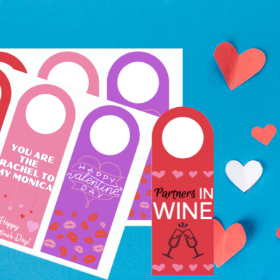 FREE Printable Valentine's Day Wine Tags (+ Galentine's Day Design!)