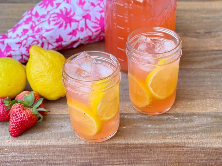 Homemade Strawberry Lemonade Moonshine Recipe