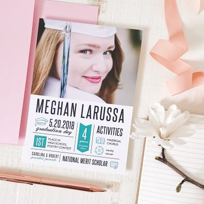 BEST Easy-To-Order High School Graduation Invitations & Photo Cards