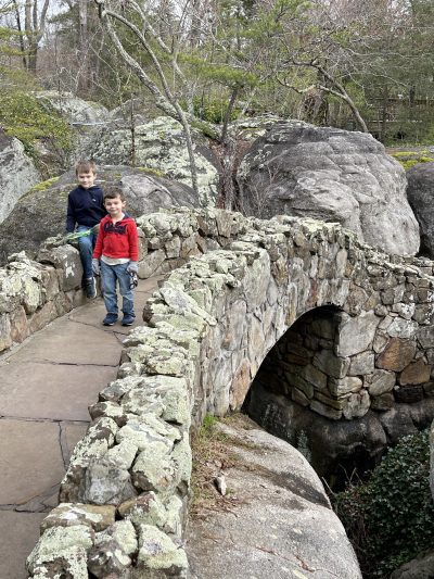 Visiting Rock City Gardens With Kids