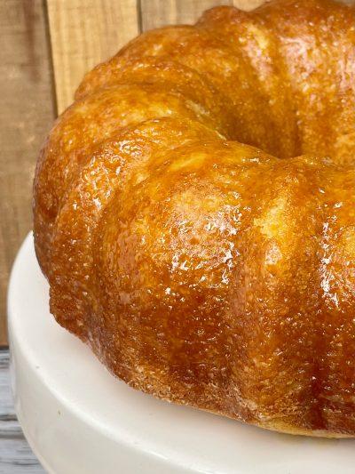 Bourbon Pound Cake, Boozy Bundt Cake Recipe