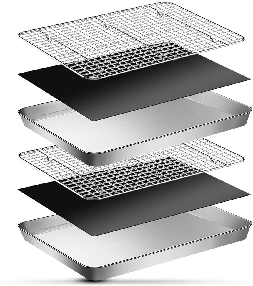 Baking Sheet & Cooling Rack Set on Amazon