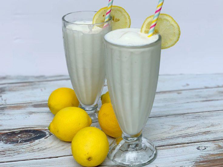 Copycat Chick-fil-a frosted lemonade recipe