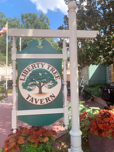 Liberty Tree Tavern Disney World Dining Review
