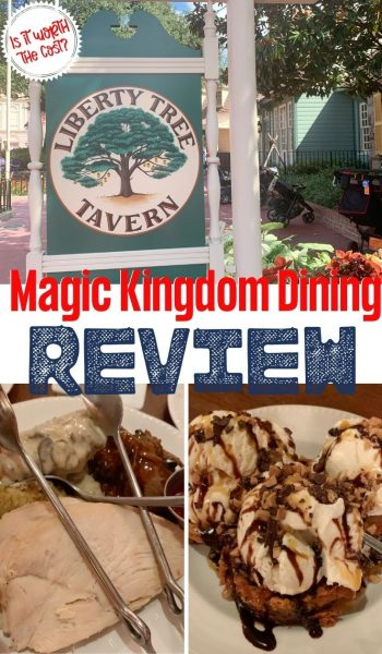 Full review of Liberty Tree Tavern, at Disney World, in Magic Kingdom Park: is it worth the money & what will your kids eat? Find out!