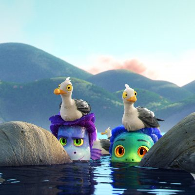 FREE printable Disney Pixar LUCA coloring pages