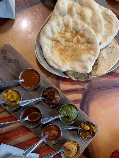 Sanaa Disney World Indian Bread Service
