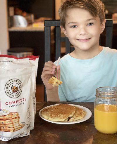 King Arthur Pancake Mix Breakfast